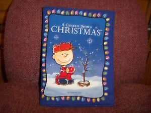 image is loading a charlie brown christmas cotton blend cloth book - When Was Charlie Brown Christmas Made