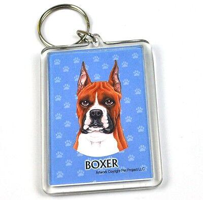 Qualifiziert Süßer Hunde Usa Schlüsselanhänger - Boxer Volumen Groß