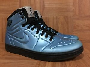check out ea60d b09fc Image is loading RARE-Nike-Air-Jordan-1-Anodized-Foamposite-Armor-