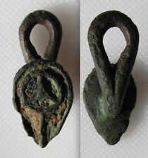 Roman Cast Copper Alloy Button & Loop Clothes Fastener