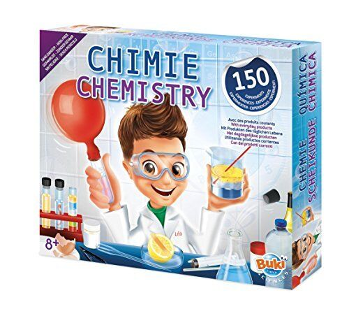 Buki France 8360-Laboratorio di Chimica 150 esperimenti