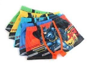 Kids Baby Boys children/'s cartoon Cotton Underwear Batman boxer briefs Wholesale