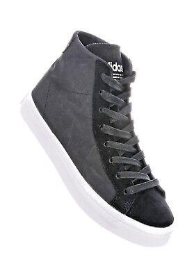 Adidas trainers Womens Court Vantage Mid tops multi sz 3.5 8.5 Black BNIB | eBay