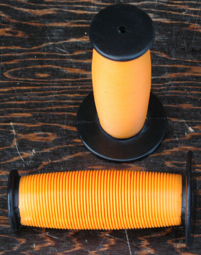 Orange 2 Tone Turbo Fixie Old School BMX Bike Mushroom Grips Fixed Gear Bicycle