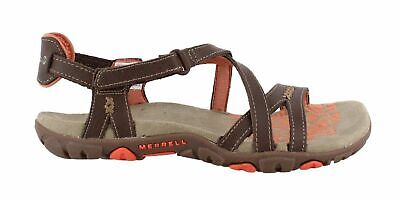NEW Merrell Women's Sandspur Rose Leather Sandals Coral Size 7 Brand New No Box | eBay