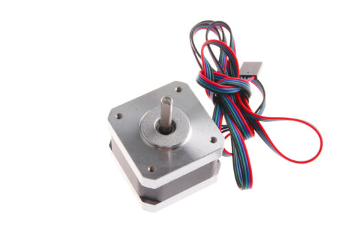 Nema 17 motor gradual 1.2A//DC 2 fases 4 cables 1.8Deg 42 X 42 X 34mm 320mN.m