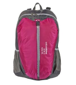Yellowstone-Archer-Rucksack-Backpack-30Liter-Pink-Grey-New-in-bag