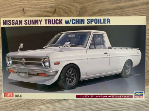 Hasegawa 1//24 Nissan Sunny Truck mit Spoiler 20427 ++
