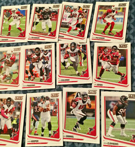 2018-Score-Football-Cards-1-329-vet-base-singles-You-pick-your-card-from-list