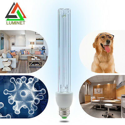 15W Ultraviolet Lamps UVC Ozone Sterilization Lights 220V for home Disinfection