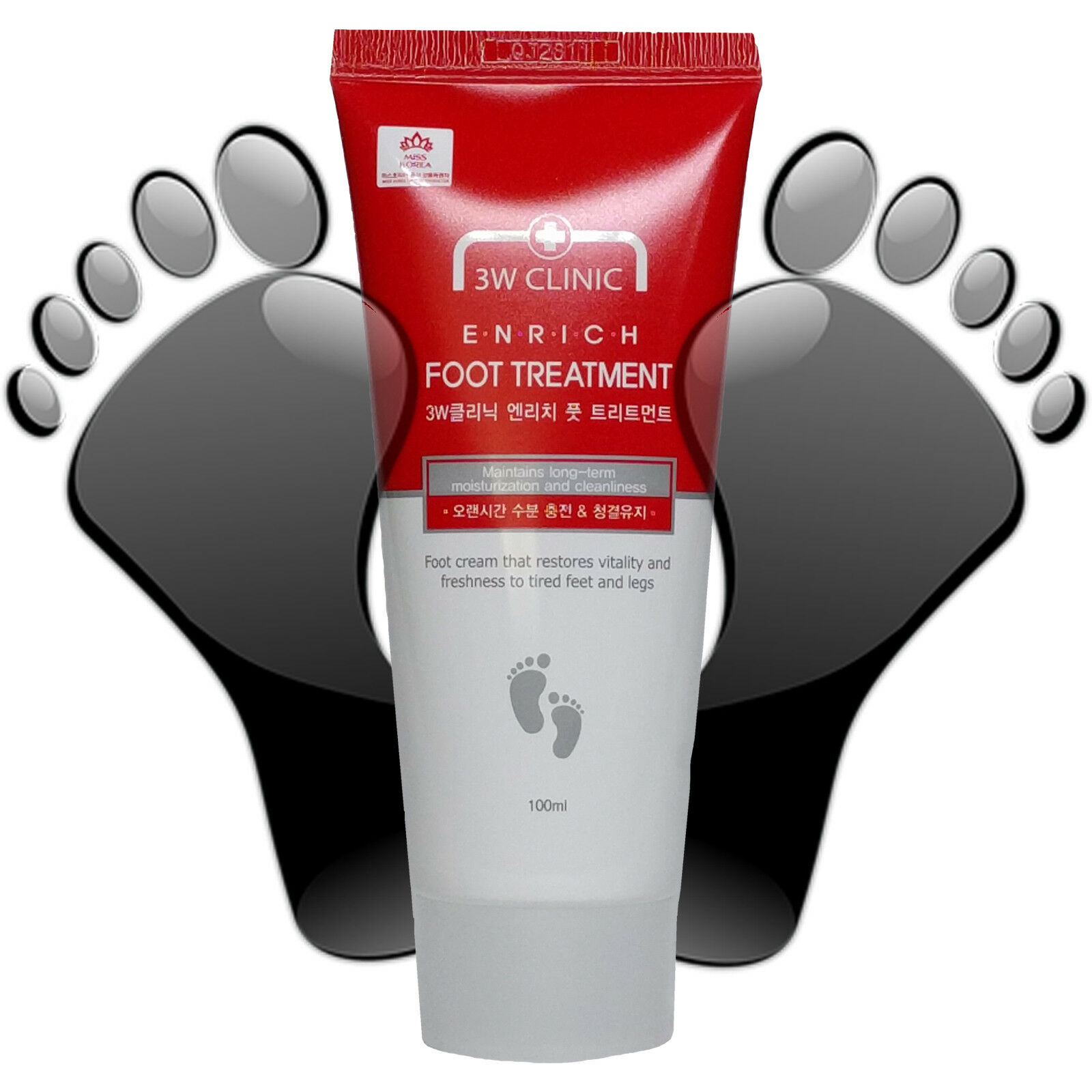 Details about Rich Foot Moisturizer Oily Cream Hyaluronic Acid Dry &  Cracked Feet & Legs 100ml