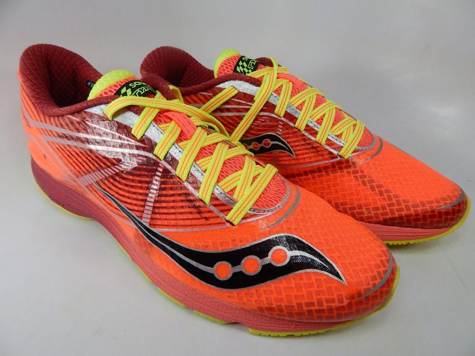 Saucony Type A7 Dimensione 8 M (B) EU 39 Wouomo Running scarpe Coral Citron S19028-1