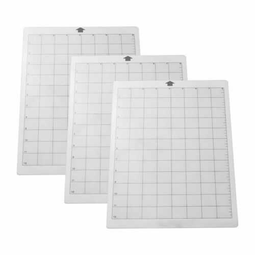"""3X A4-8x12/""""Silhouette Cameo Portrait Cutting Mat Economy Carrier Sheets"""