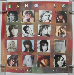 BANGLES-Different-Light-1985-Columbia-US-PROMO-POSTER-Manic-Monday-SUSANNA-HOFFS