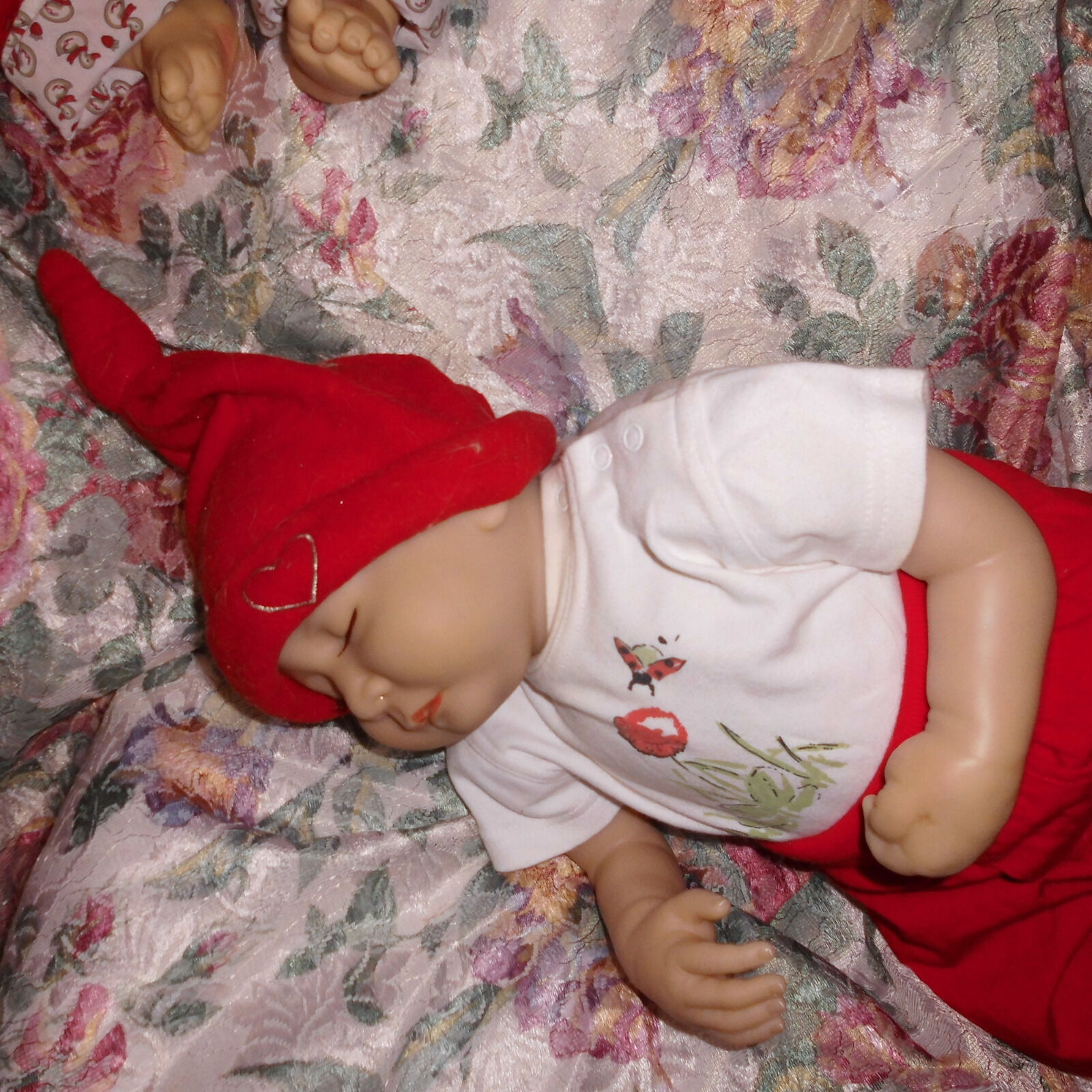 Künstlerpuppe Baby Puppe Reborn Baby Vinyl Schlummerbaby