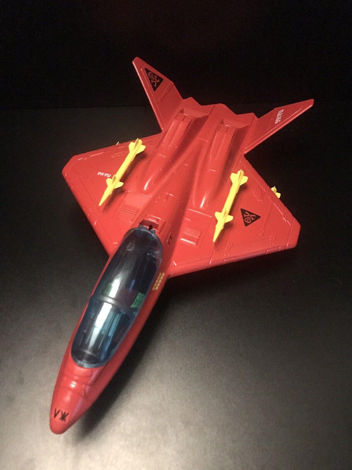 1992 Gi Joe Storm Águila v1 Completo Rojo Sombras vehículo personalizado