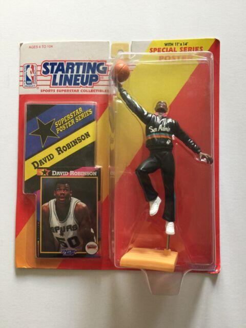 NBA Basketball Starting Lineup (1992) David Robinson Kenner Figure