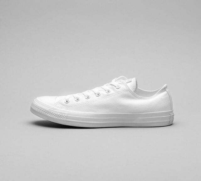 MENS CONVERSE CTAS OX WHITE TRAINERS