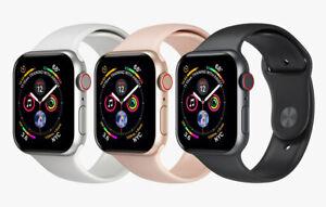 Apple Watch Series 4 44mm 4g Cellular Aluminum Case Smart Watch Ebay