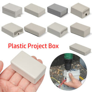 Instrument Case Enclosure Boxes Electronic Project Box Waterproof Cover Project✅