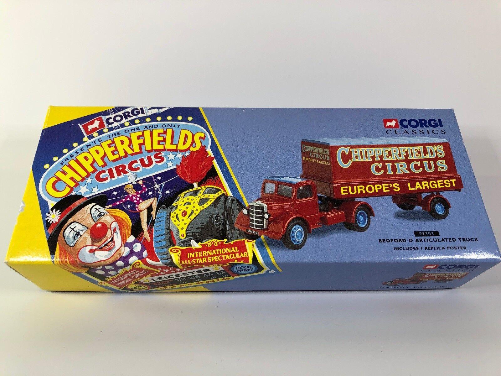 promocionales de incentivo Nuevo En Caja'S Clásico Corgi Corgi Corgi Bedford O camiones articulados con réplica Cochetel  97303  caliente