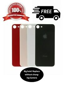 Back-Rear-Glass-Replacement-Battery-Cover-For-iPhone-8-8-X-XS-with-Big-Hole