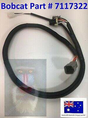 [SCHEMATICS_4UK]  Bobcat Wiper Wiring Harness 7117322 S250 S300 S330 T110 T140 T180 T190 T250  T300 | eBay | T180 Bobcat Wire Diagram |  | eBay