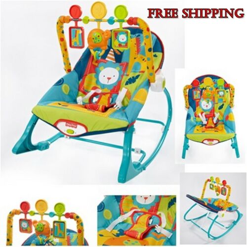 Baby Infant Chair Swing Rocker Bouncer Feeding Seat Sleeper Toddler Music Toy