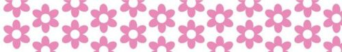 "Bella Blvd DESIGNER TAPE Beautiful /""Pink Flowers/"" 19MM #296!!"