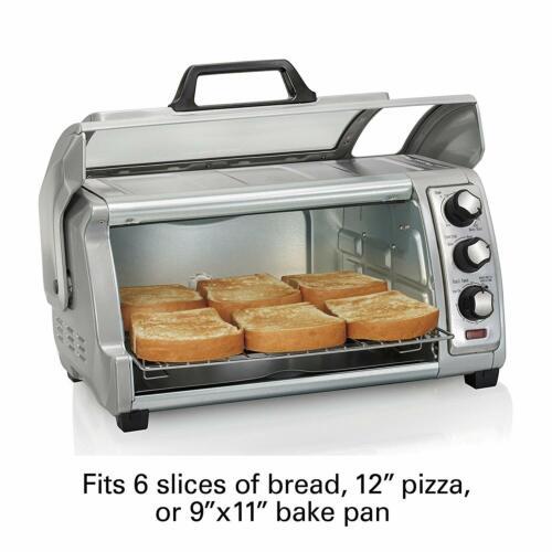 Horno Electrico Pequeno Acero Inoxidable Tostador Cocina Portatil Toaster Oven