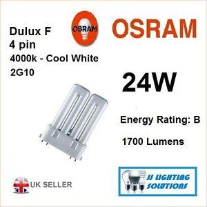RALUX TWIN RADIUM DULUX F 24 W 840 2G10 4 PIN WATT LAMP BULB RX-TW  1700 LM