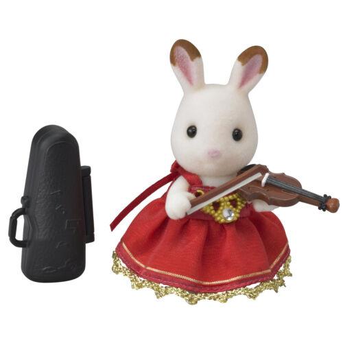 Town Violin Concert Chocolat Rabbit Set TS-03 Sylvanian Families Japan EPOCh