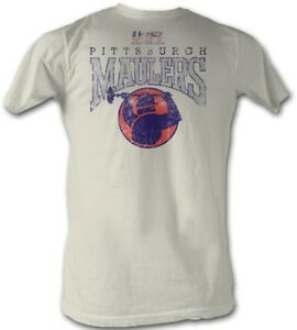 Pittsburgh-Maulers-LOGO-USFL-Men-039-s-Tee-Shirt-Natural-Sizes-S-5XL
