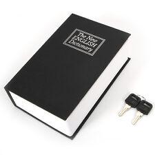 New Cute Storage Dictionary Hidden Book Money Safe Lock Secret Security Cash Box