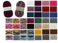King Cole Big Value Super Chunky Acrylic Wool Yarn Inc Tints 100g FREE POSTAGE