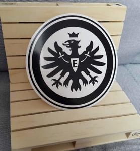 Details Zu Eintracht Frankfurt 9cm Schwarz Adler Aufkleber Logo Auto Kfz Sge Neu Rund 1liga
