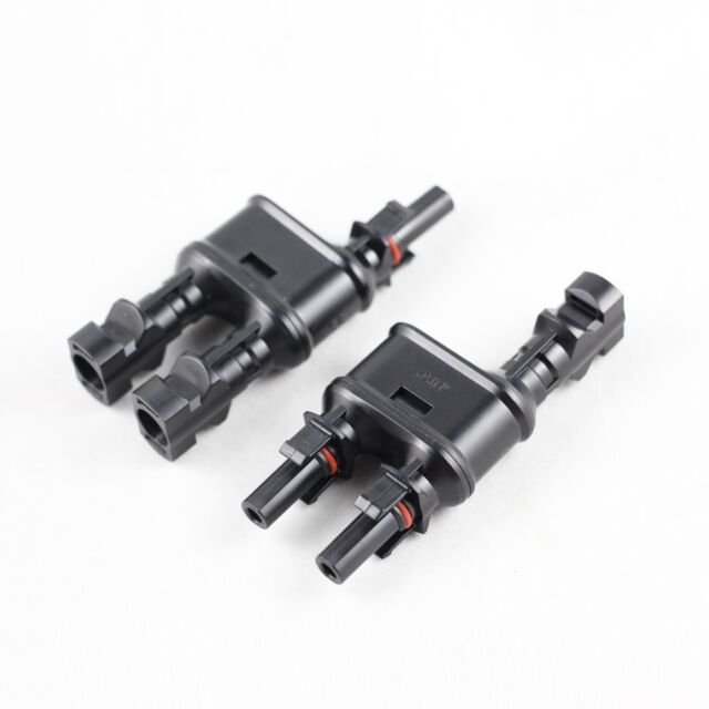 1 Pair MC4 Branch 1 to 2//3//4//5 way Solar Panel PV Cable Connector Parallel Set