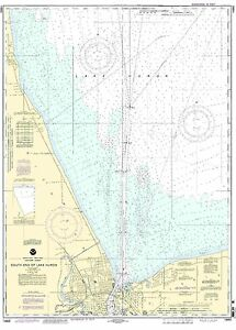 NOAA Chart South End of Lake Huron 17th Edition 14865