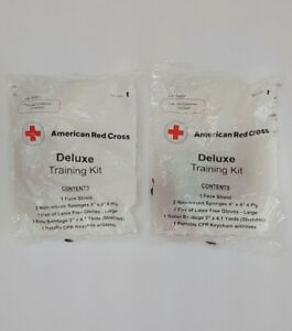 Sealed American Red Cross Deluxe Training Kit - 2 Pack