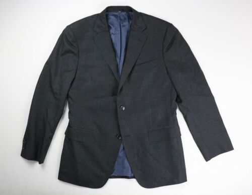 Suit Supply Charcoal Gray Wool Super 110's Blazer