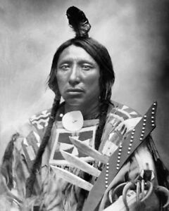 1880-Native-American-Indian-CHIEF-SPOTTED-EAGLE-Glossy-8x10-Photo-Sioux-Print