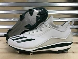 Details about Adidas Energy Boost Icon 2.0 2 Metal Baseball Cleats White Green SZ ( Q16533 )