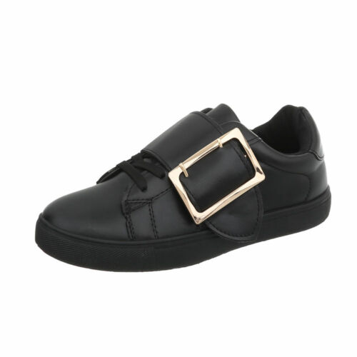 Sneakers Freizeitschuhe Sneakers Low Damenschuhe 0124 Ital-design