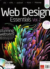 WEB DESIGN ESSENTIALS Vol 2 + CD Apps & Resource Files CREATIVE MASTERCLASS @NEW