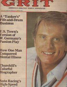 Details About 1980 Grit August 31 Ron Ely Of Face The Music And Miss America Host