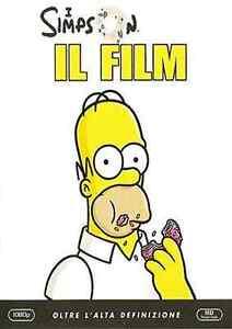 DVD-I-SIMPSON-IL-FILM-IN-BLU-RAY-NUOVO-ITALIANO