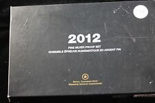 **2012** RCM,  Special Edition Fine Silver, Canada Proof Set.