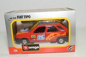 Bburago Burago 125 Fiat Tipo Rally Red Mint Boxed Ebay