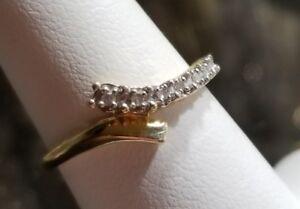 59902032a Image is loading Kay-Jewelers-10k-Yellow-gold-journey-Diamond-wedding-