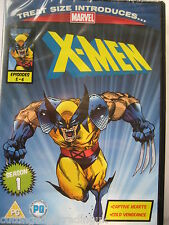 Marvel X-men Season 1 Episodes 5-6. Treat Size DVD. New & Sealed PAL
